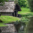 River Avon Boathouse by Mark Johnson