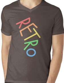 Retro! Mens V-Neck T-Shirt