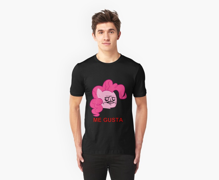 Pinkie Pie ME GUSTA by BlackPenguin