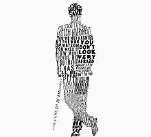 Mycroft Holmes Typography Art T-Shirt