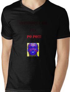 Mia Zombie Mens V-Neck T-Shirt