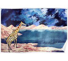 Giraffic Park Poster