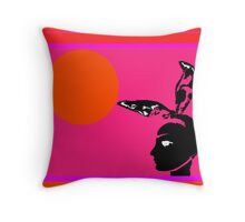 minimal cover Throw Pillow