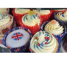 Diamond Jubilee Cup Cakes Photographic Print