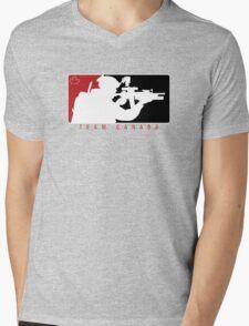 Team Canada Mens V-Neck T-Shirt