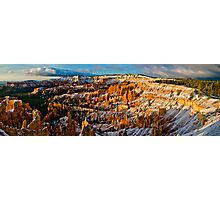 Sunlights First Touch - Bryce Canyon National Park, Utah Photographic Print