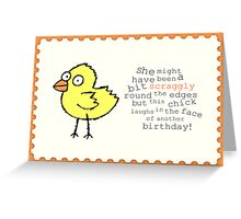 Vintage Collection - Chick Greeting Card