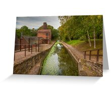 Shropshire Canal Greeting Card