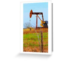 The Oilfield Greeting Card