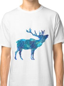 Painted Blue Moose Classic T-Shirt