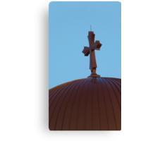 Close Holy Cross Canvas Print