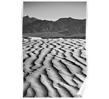 Rippled - Death Valley National Park, California Poster