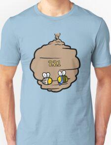 221 Bee Baker Street Unisex T-Shirt