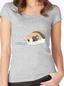 Don't worry, it was delicious! Women's Fitted Scoop T-Shirt
