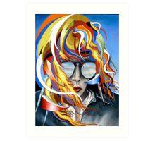 Venus Psychedelia Art Print