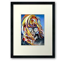 Venus Psychedelia Framed Print