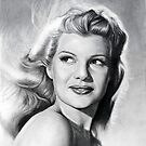 Rita Hayworth  by Martin Lynch-Smith