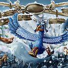 Blue Mountain BlueBird by Matt Katz