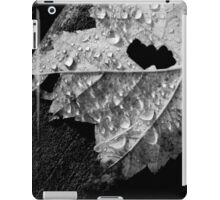 Fallen Leaf in the Rain iPad Case/Skin