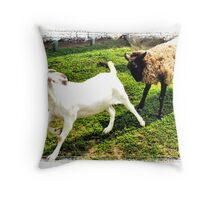 No Butts about It Throw Pillow