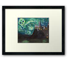 Starry Night at Hogwarts Framed Print