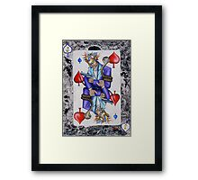 Jack of Spades Framed Print