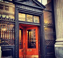 Door to the Forbes Building  - Lower Fifth Avenue - New York by SylviaS