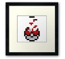 Pokeball Tetris Framed Print