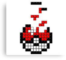 Pokeball Tetris Canvas Print