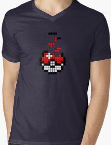 Pokeball Tetris Mens V-Neck T-Shirt