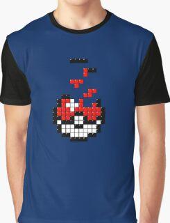 Pokeball Tetris Graphic T-Shirt
