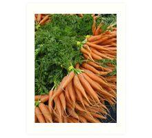 Carrots Art Print
