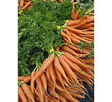Carrots Photographic Print