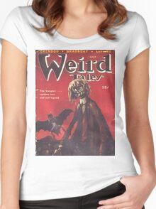 Weird Tales Magazine Women's Fitted Scoop T-Shirt