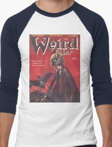 Weird Tales Magazine Men's Baseball ¾ T-Shirt