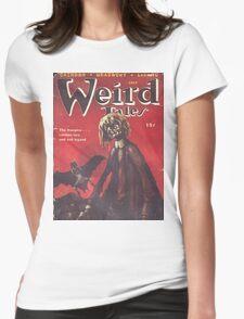 Weird Tales Magazine Womens Fitted T-Shirt