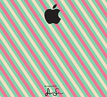 Stripes iPhone/iPod Case by anniesurman