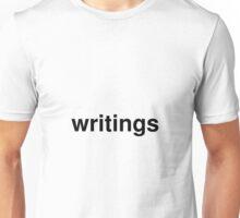 writings Unisex T-Shirt