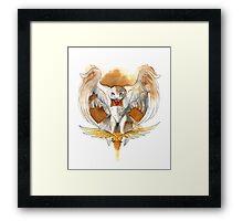 Harry Potter Hedwig Owl Framed Print