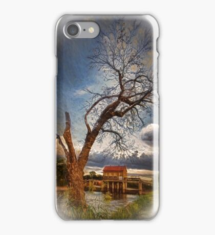 Composed Single Tree iPhone Case/Skin