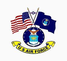 U. S & Air Force Crossed Flags T-Shirt