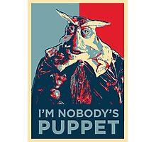 Nobody's Puppet Photographic Print