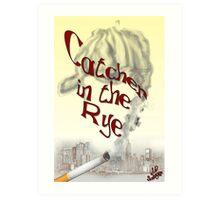 Catcher in the Rye Concept Art Art Print
