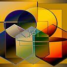 Golden circles by IrisGelbart