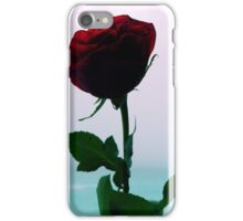 Silhouette of a Rose, Part Two iPhone Case/Skin