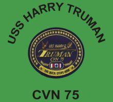 USS Harry S. Truman (CVN-75) Crest One Piece - Short Sleeve