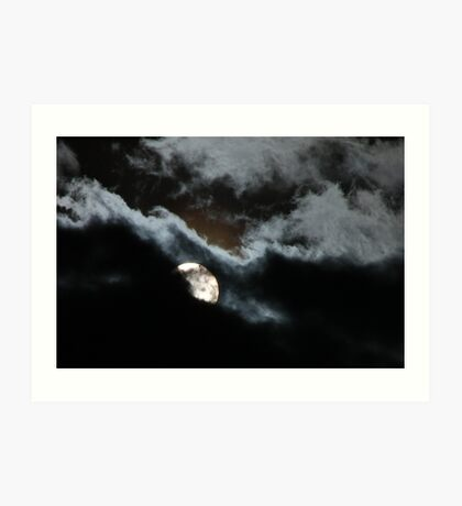 Clouded Transit of Venus Art Print