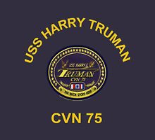 USS Harry S. Truman (CVN-75) Crest for Dark Colors Classic T-Shirt