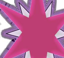 Neon Sparkle Sticker