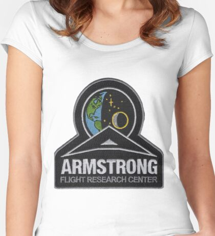 Armstrong Flight Research Center Women's Fitted Scoop T-Shirt